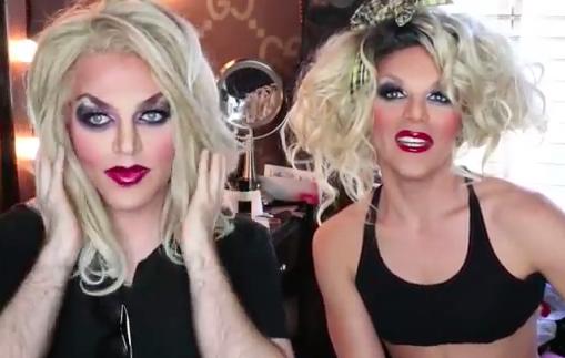 Willam Belli creates sister magic in makeup tutorial