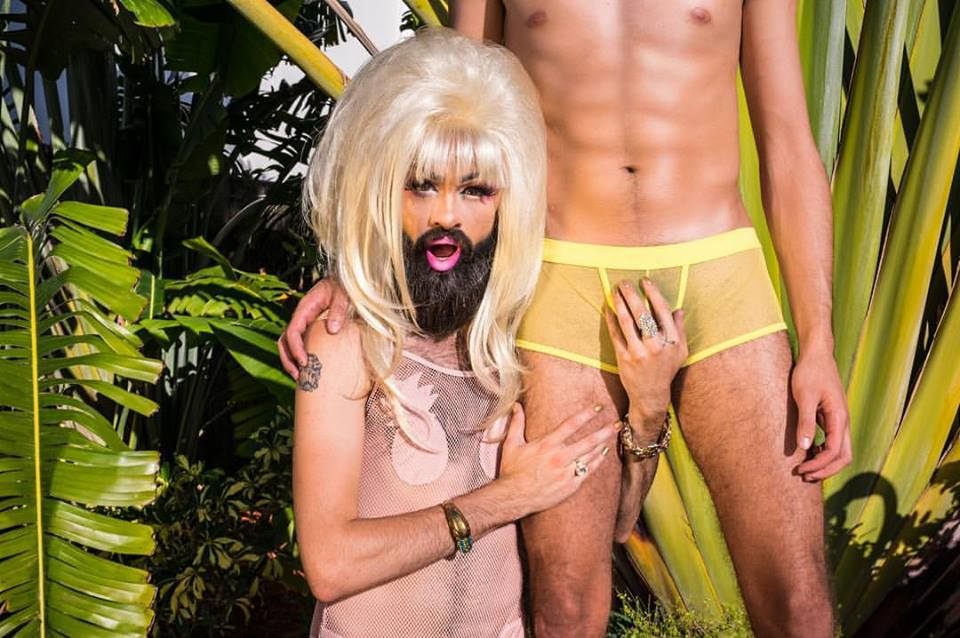 Miami's Pineapple Princess Talks with DSD About Style, Body Hair, And Drag Race
