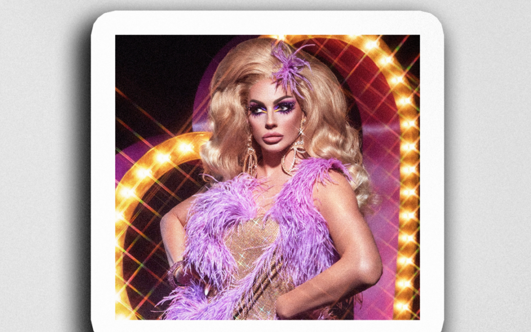 "Alyssa Edwards ""Showgirl"" Sticker"