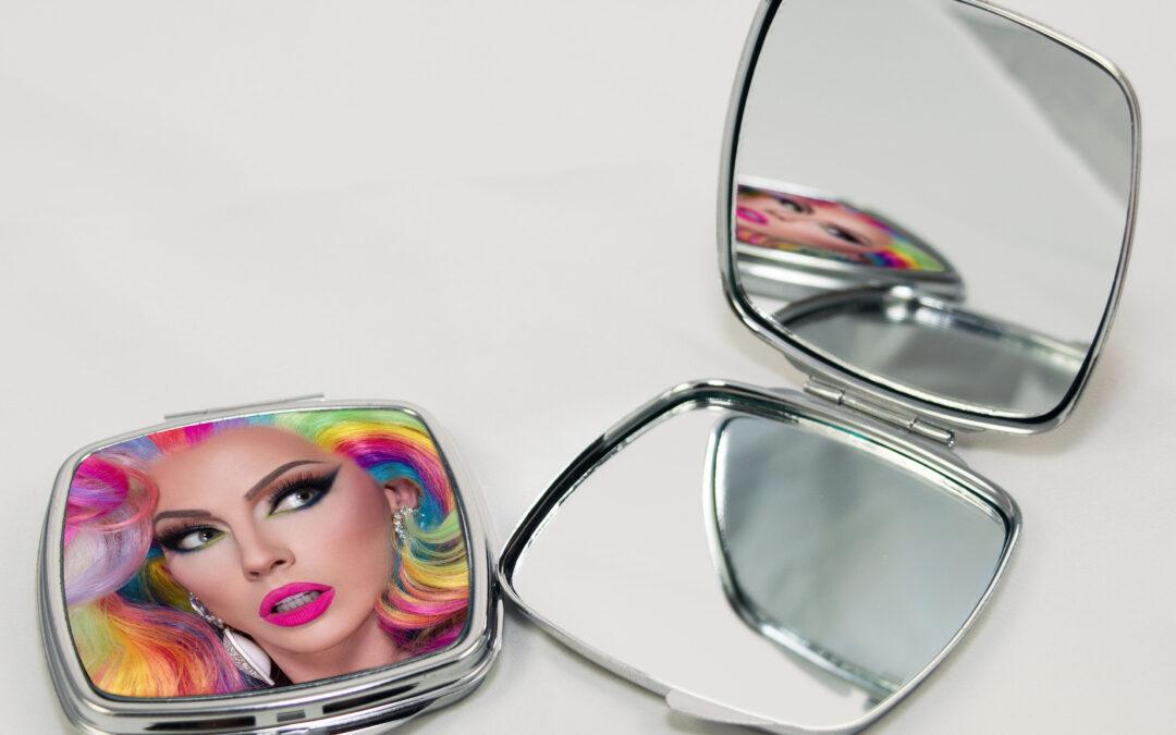 Rainbow Compact Mirror